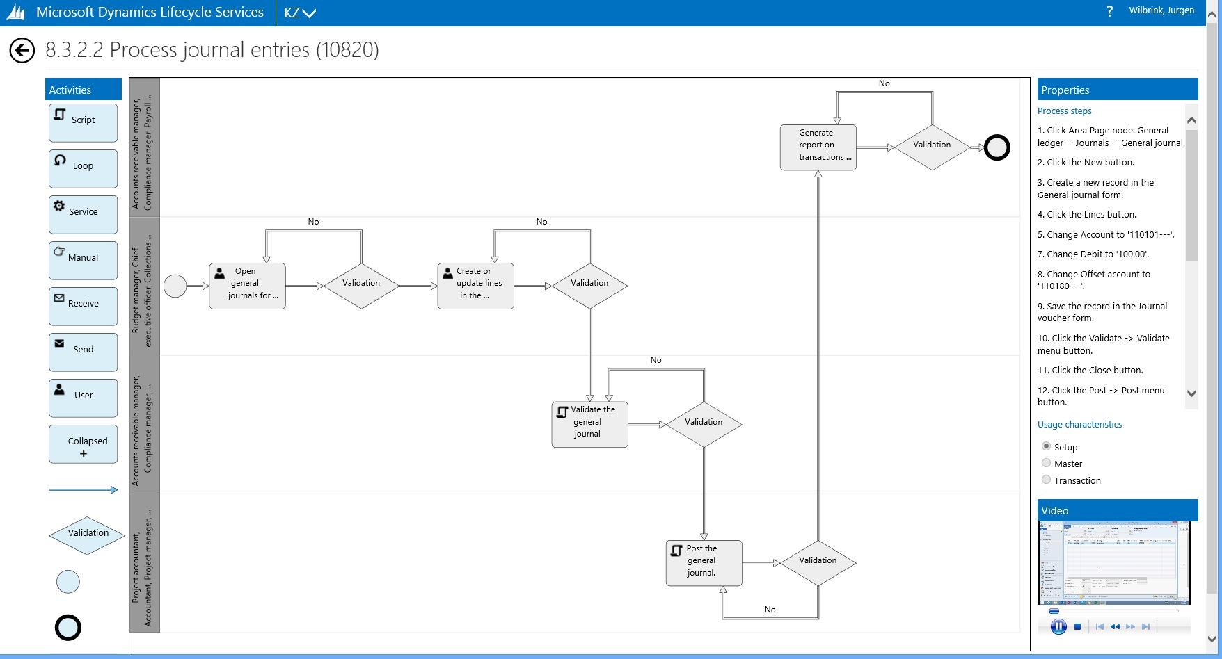 Business Process Modeler Jurgen Wilbrink Dynamics Ax Blog Flow Diagram General Ledger Information About Custom Processes By Using An Updated Version Of Task Recorder Kb2863182 Each Flowchart Includes Then The Detailed Steps